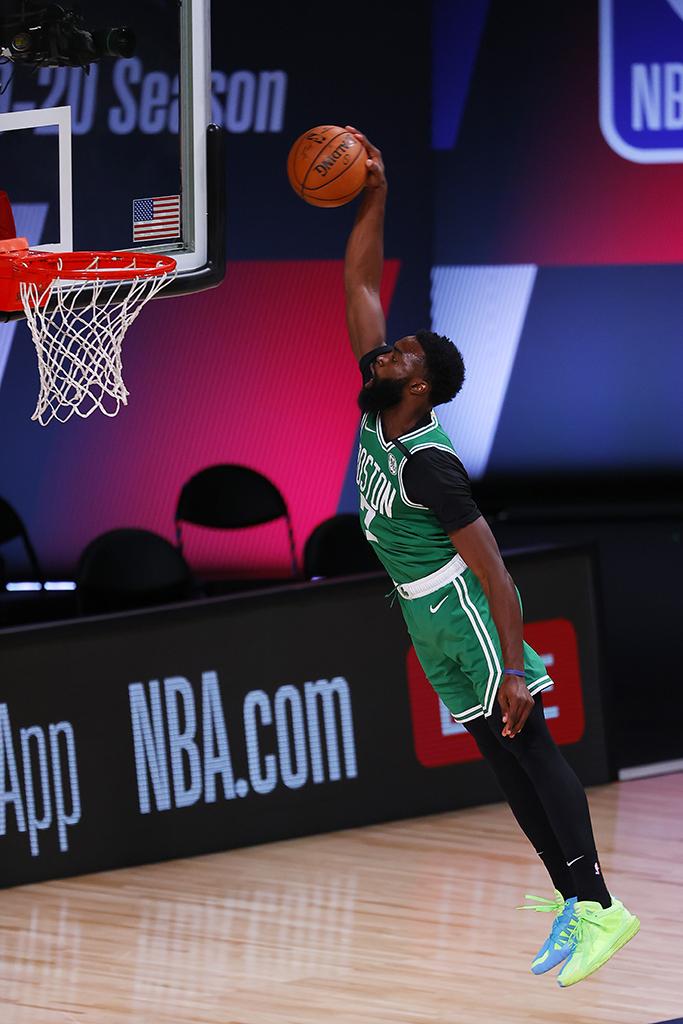 Jaylen Brown Boston Celtics Adidas Dame 6