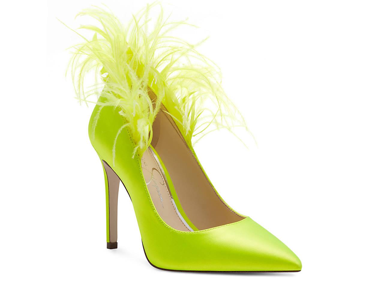 green pumps