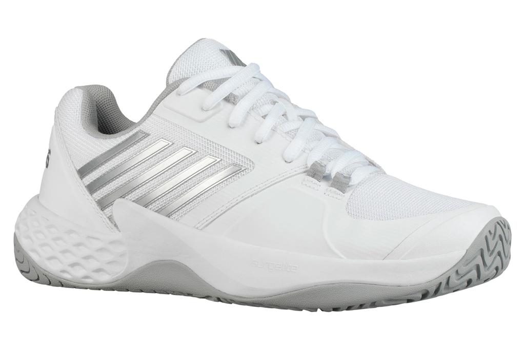 k-swiss, kswiss, tennis shoes, white, gray