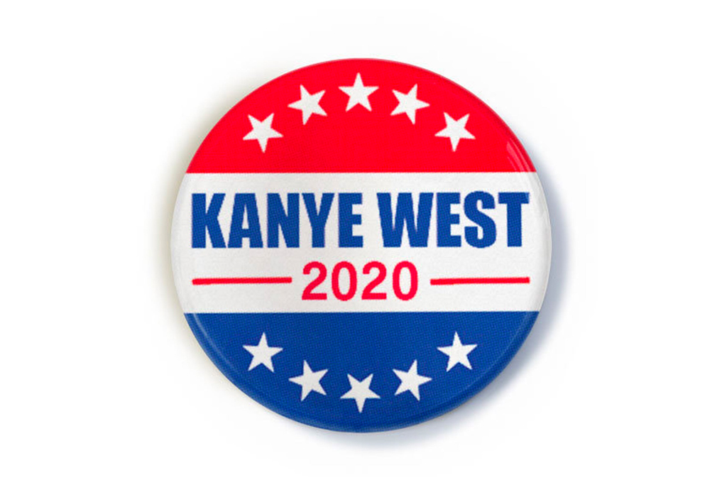 Kanye West For President POSTER Adults T-Shirt