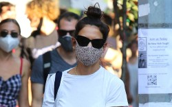 Katie Holmes is seen shopping at