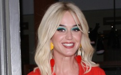 katy perry, style, dress, shoes, baby