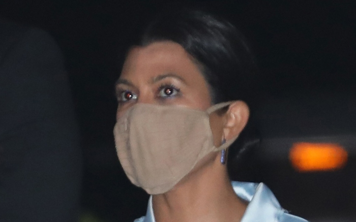 kourtney-kardashian-style-pajamas-mask