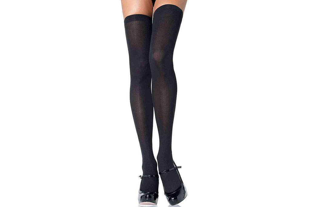 leg avenue stockings, thigh high