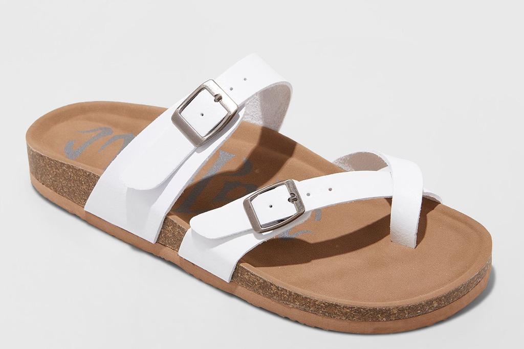 made love, sandals, target,