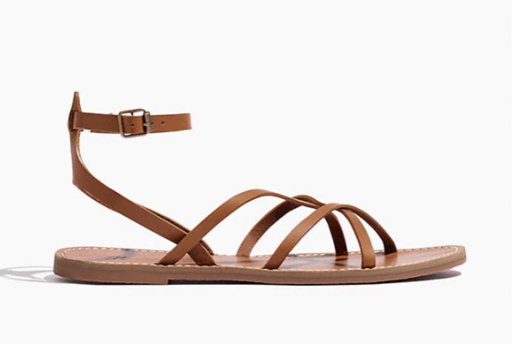 madewell shoe, madewell secret sale, madewell cross strap sandal