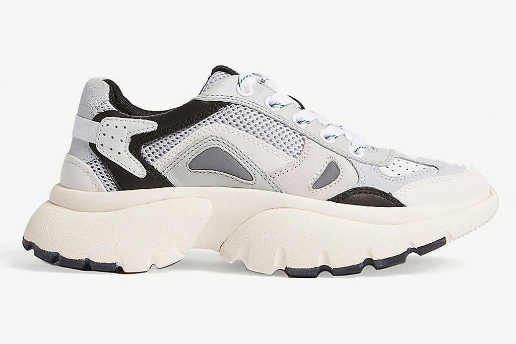maje, sneakers, two tone