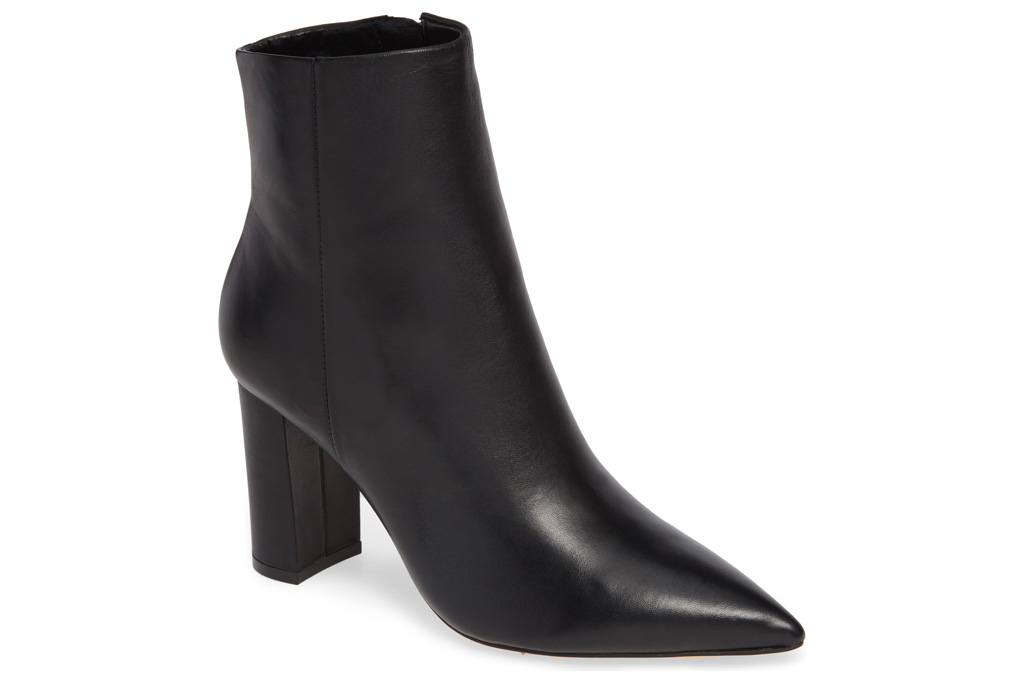 marc fisher, black boots, pointed toe, boots