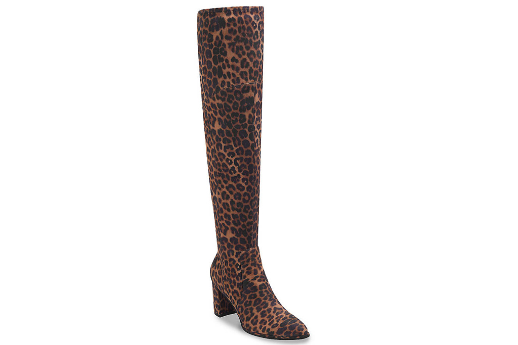 marc fisher, cheetah boots