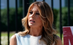 melania trump, first lady, style, dress,