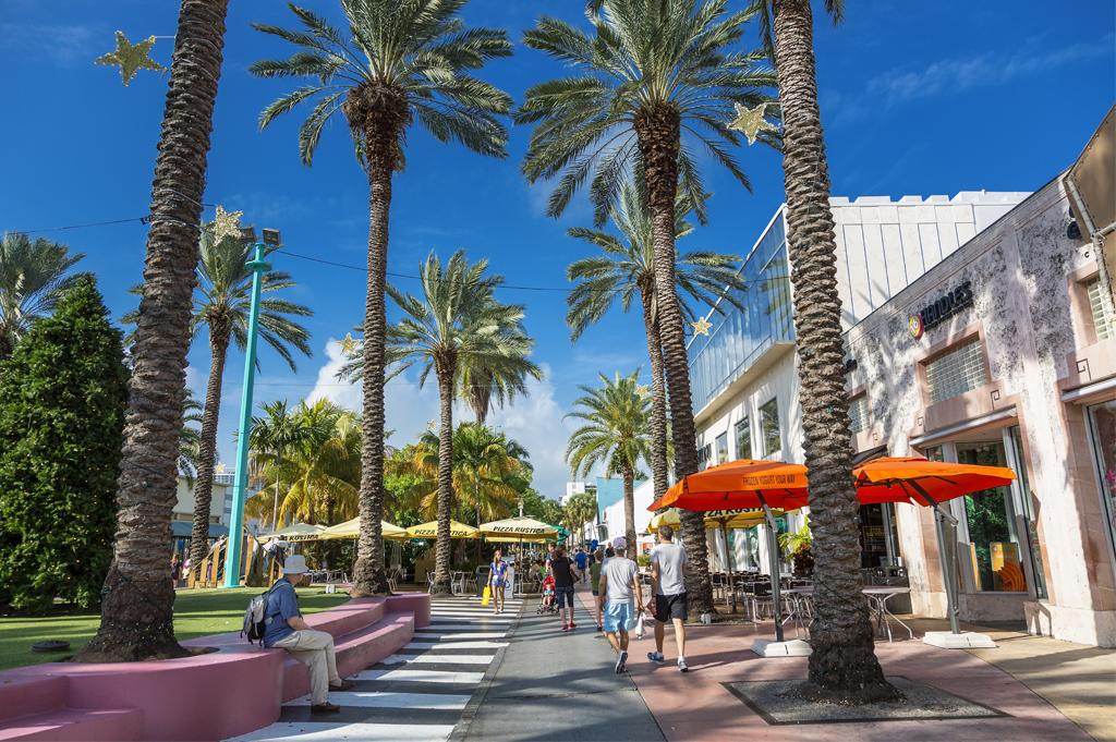 Miami South Beach Lincoln Road