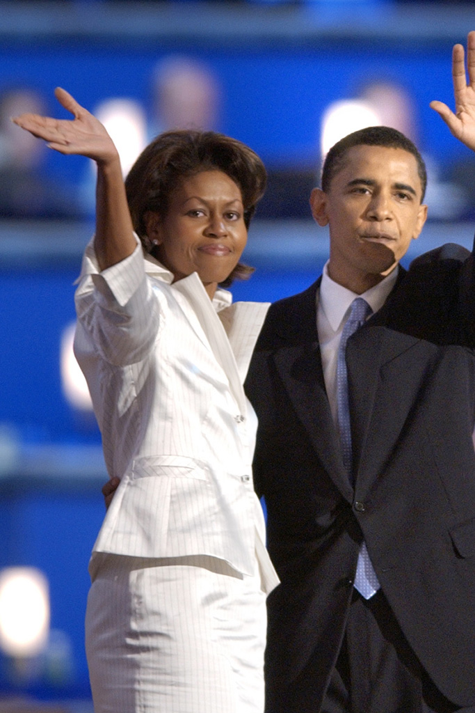 Michelle Obama Democratic Convention 2004