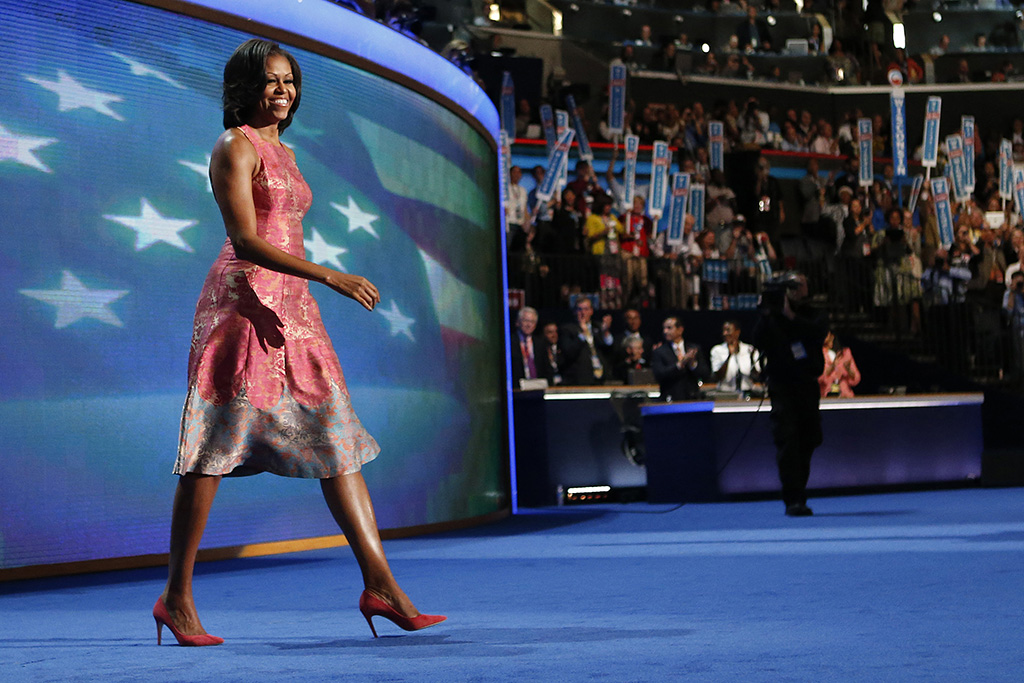 Michelle Obama 2012 Democratic National Convention