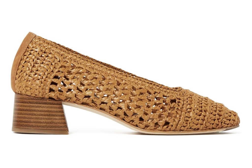 miista raffia shoe, ballet flat, raffia trend, summer 2020 trend, fashion trend, fashion, shoe, shoe trends