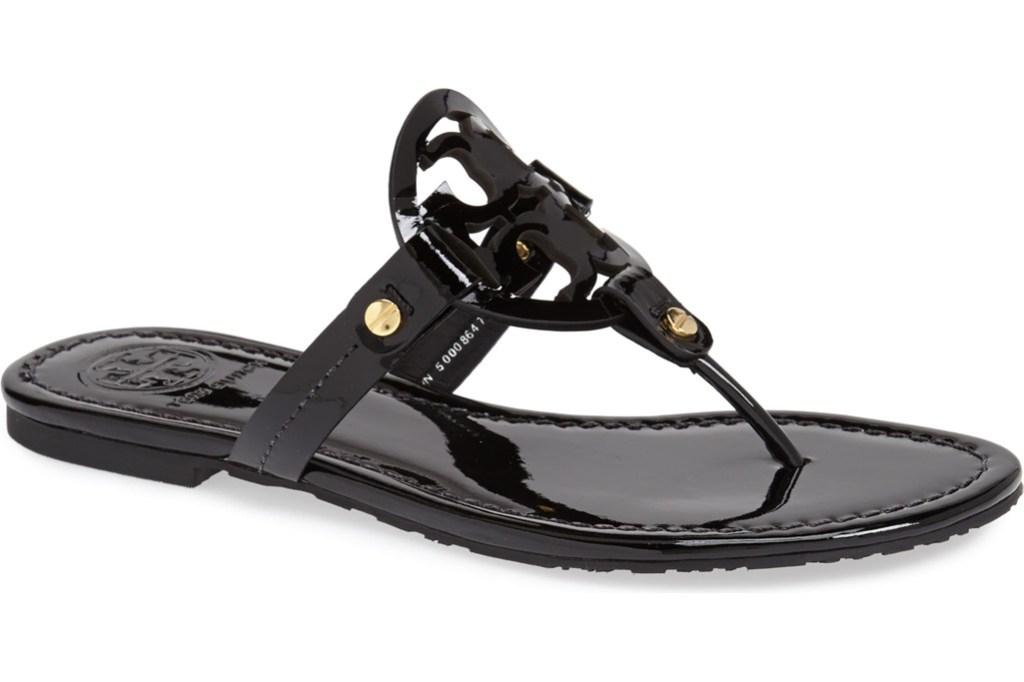 tory burch miller flip flop, tory burch sandal, tory burch flip flop
