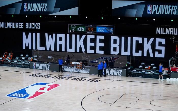 Milwaukee Bucks NBA Orlando Magic Jacob Blake