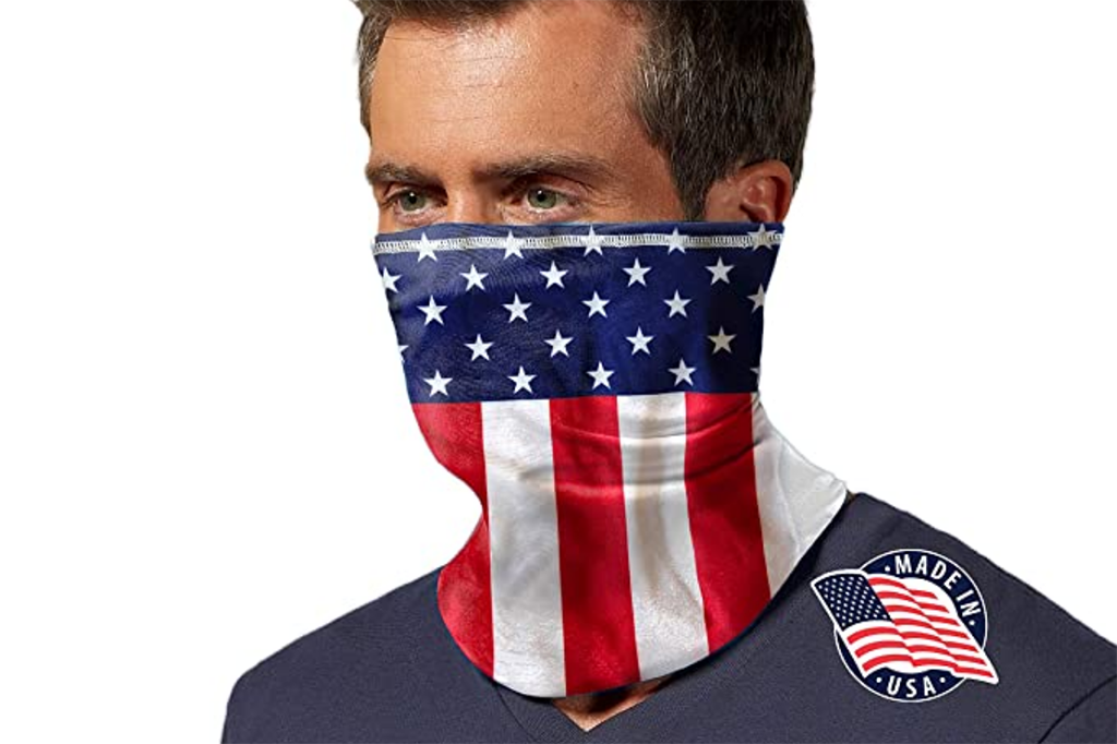 Mission, face mask, usa, neck gaiter, face covering