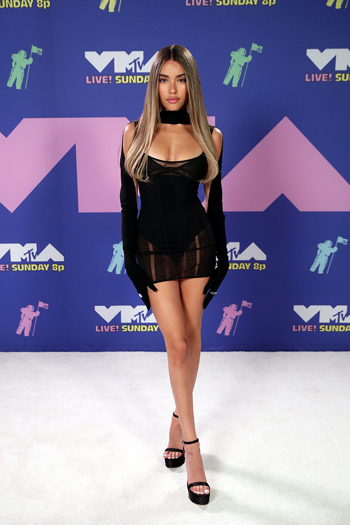 NEW YORK, NEW YORK - AUGUST 30: Madison Beer attends the 2020 MTV Video Music Awards, broadcast on Sunday, August 30, 2020 in New York City. (Photo by Rich Fury/MTV VMAs 2020/Getty Images for MTV)