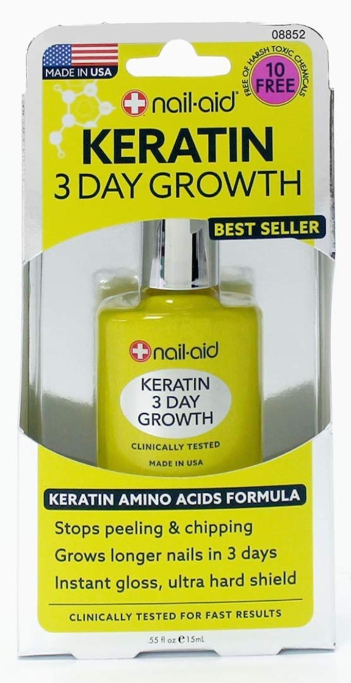 Nail-Aid Keratin 3 Day Growth Treatment
