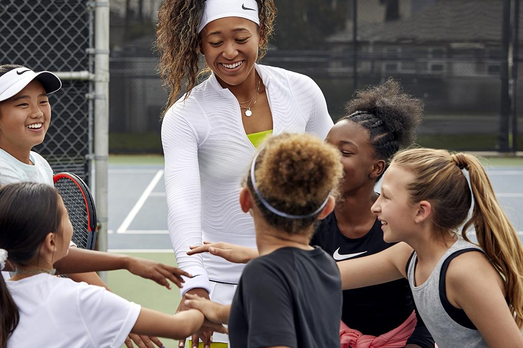 Nike & Naomi Osaka Launch Girls-Focused Play Academy – Footwear News
