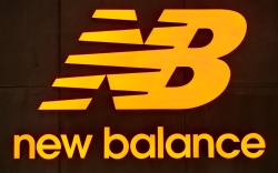 new balance, logo, sneakers