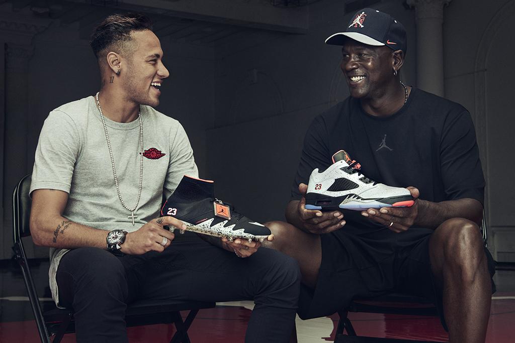Neymar Jr Michael Jordan