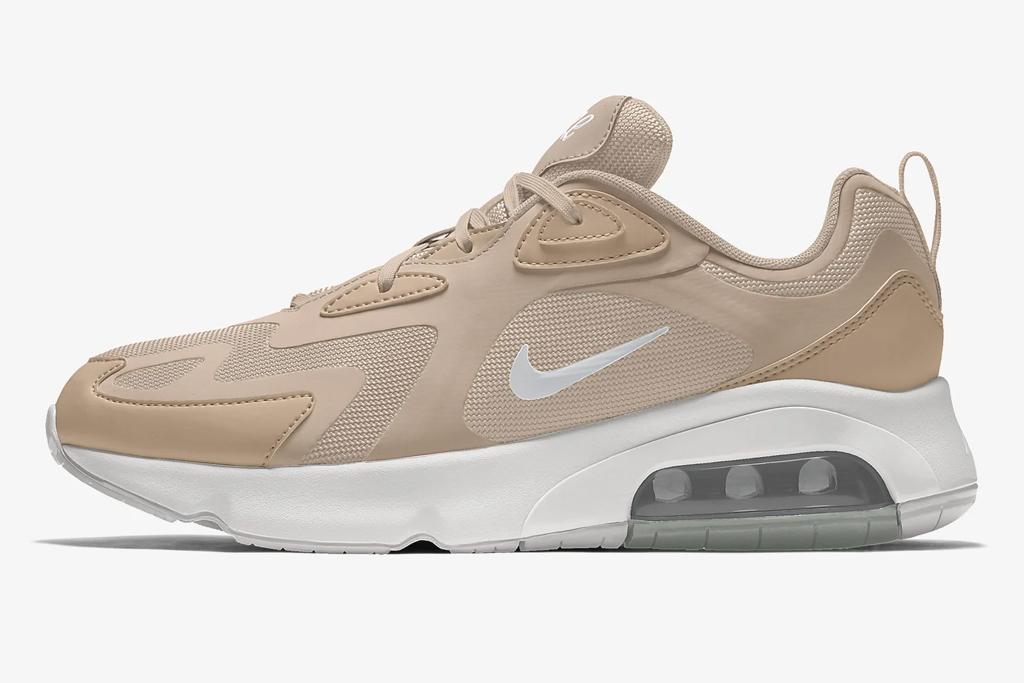 beige, sneakers, nike