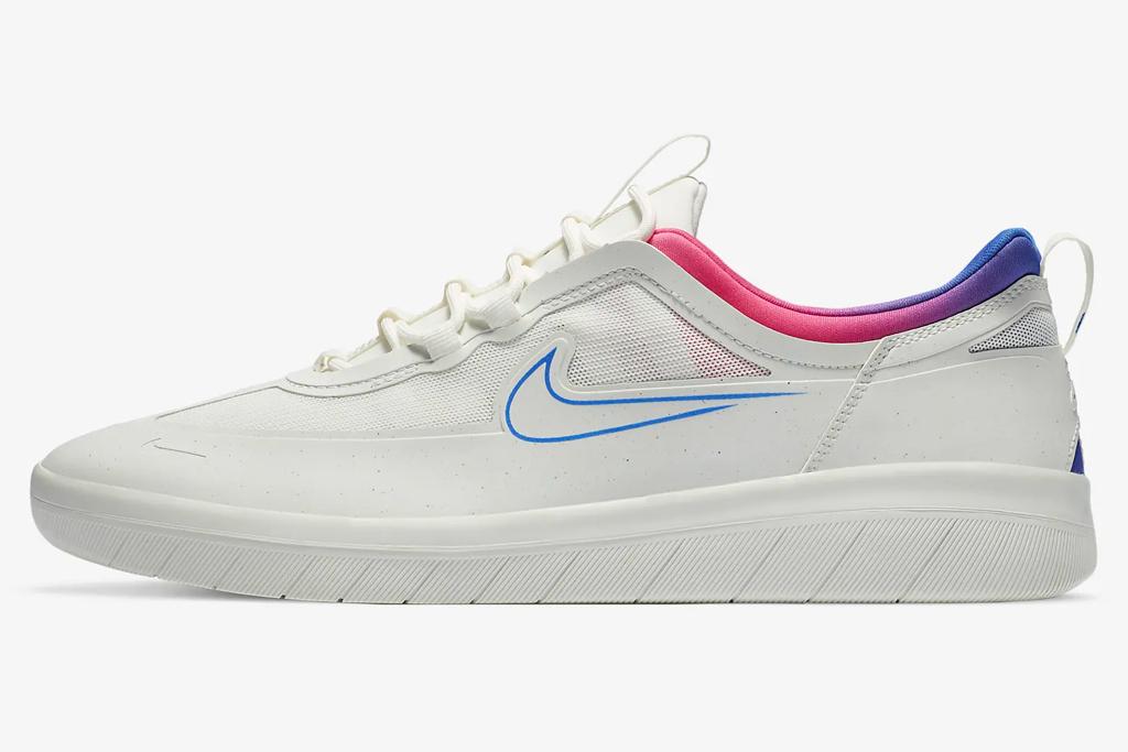 Nike SB Nyjah Free 2, pink, white