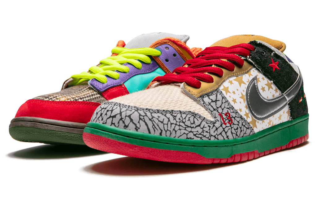 """Nike Dunk SB Low """"What the Dunk"""", nike, what the dunk, style"""