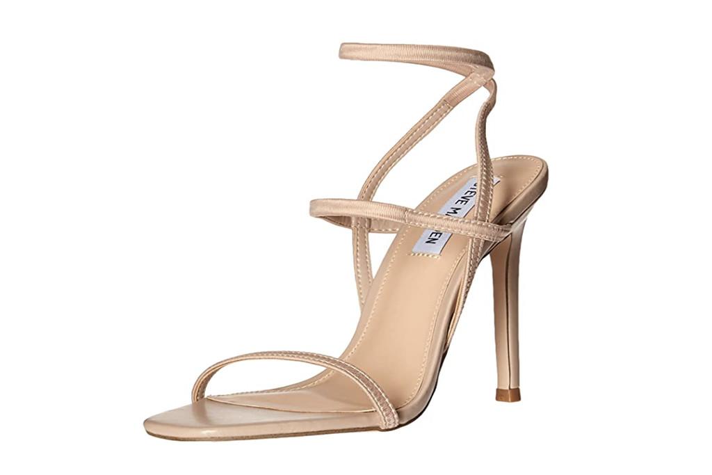 steve madden sandal, nude heels, nude heel trend