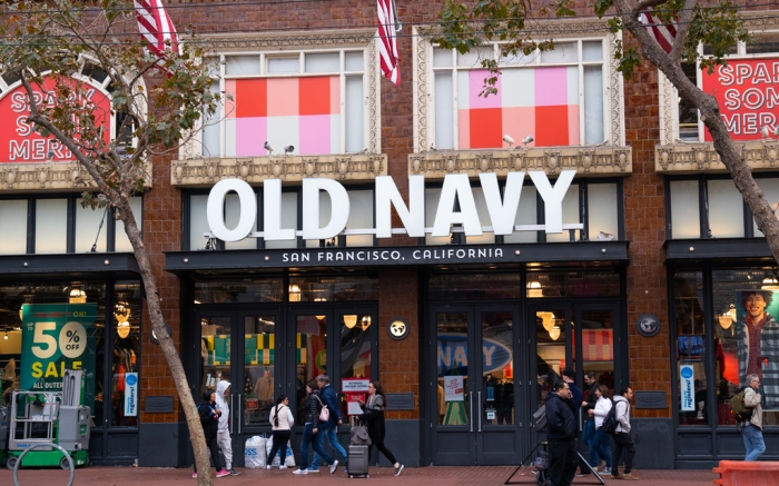 Old Navy Store San Francisco California
