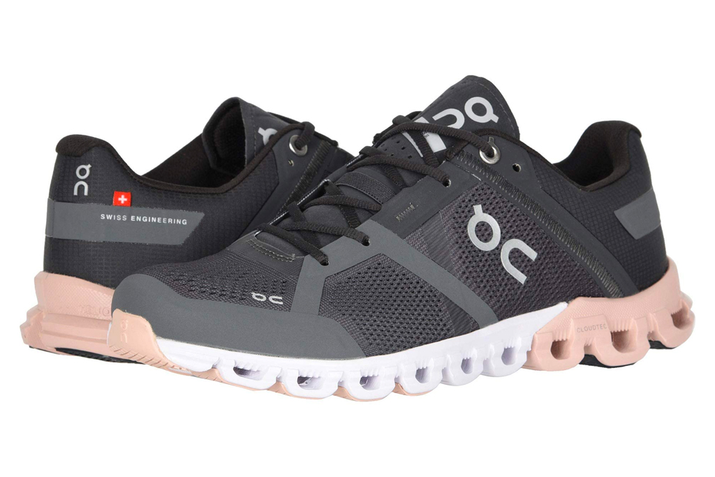 on cloudflow, running shoes