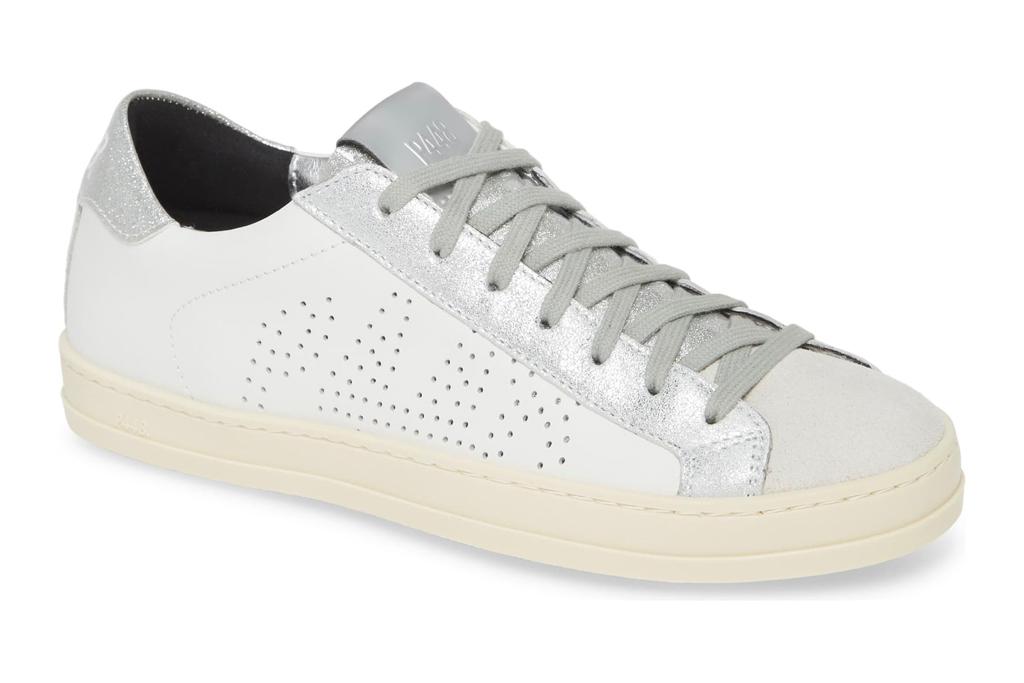 p488, sneakers, metallic, silver, white