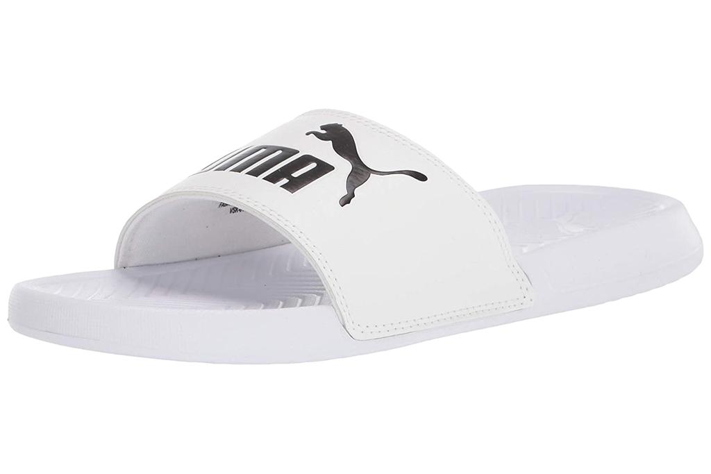 white, slides, puma