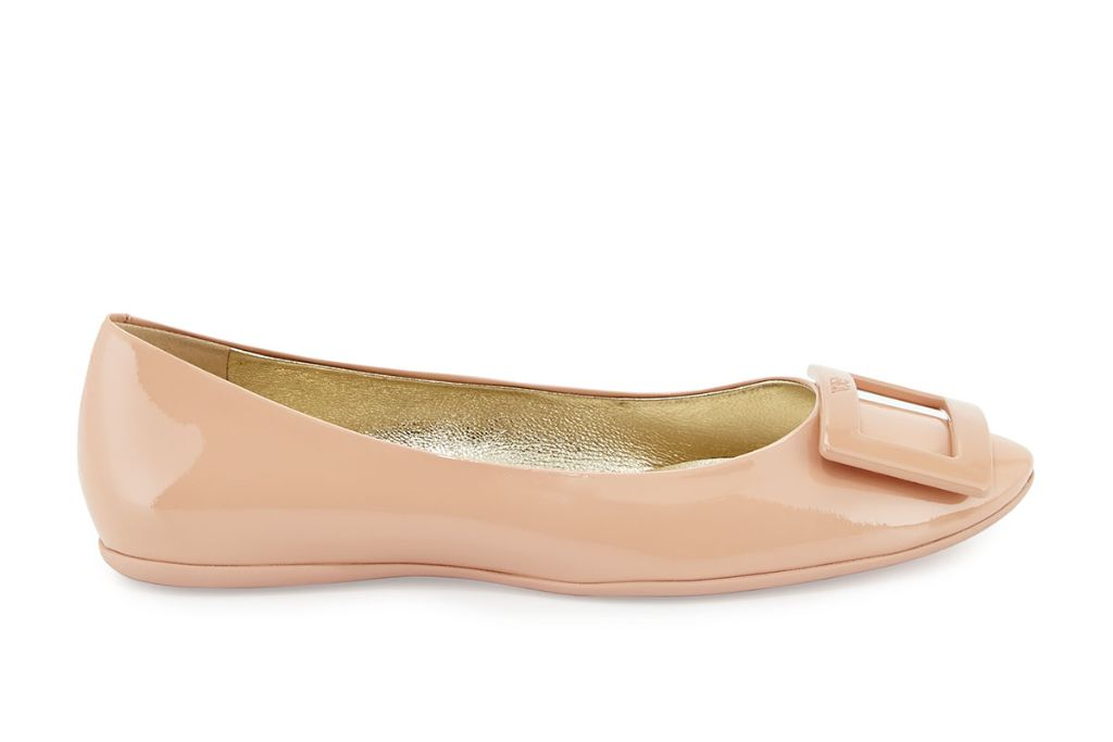 roger vivier, roger vivier ballet flat, ballet flat, fall 2020 shoe trends, shoes, fashion trends