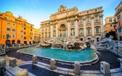 Rome Italy Trevi Fountain