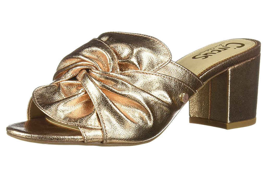 sam edelman, circus, gold, sandals, heel