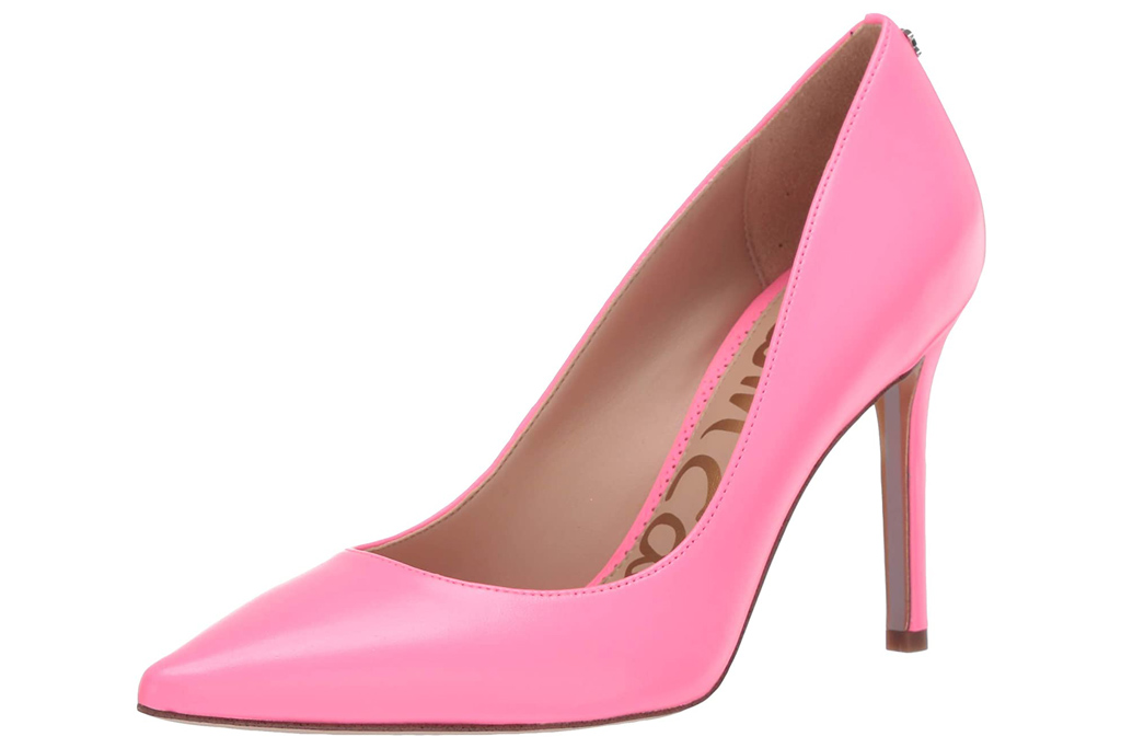 sam edelman, pink, pumps
