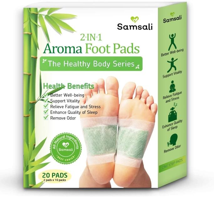 samsali bamboo foot pads