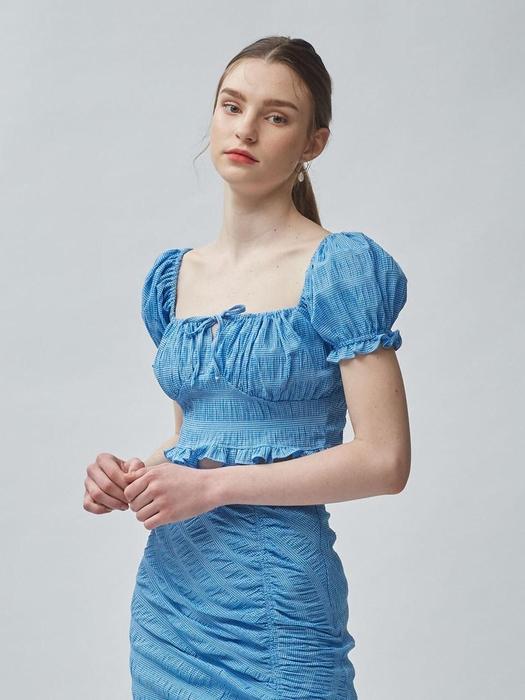 blue sarah top