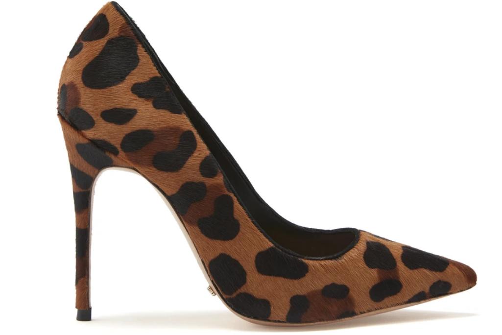 Schutz, leopard print pumps