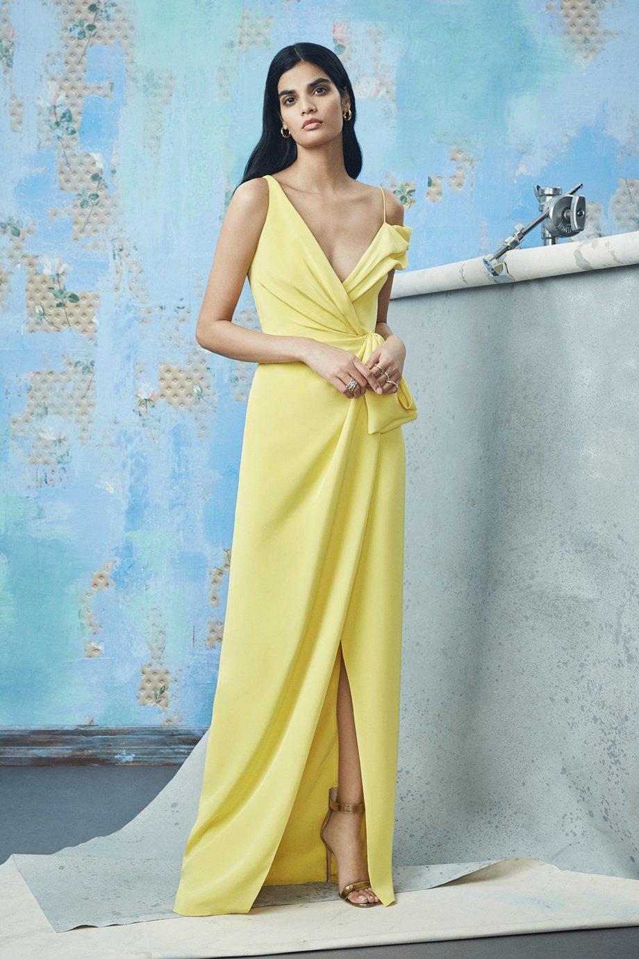 Silk gown, Cushnie