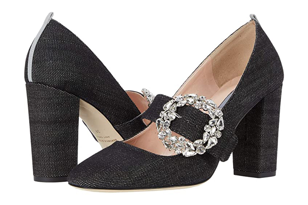 SJP shoes, celine, dark denim