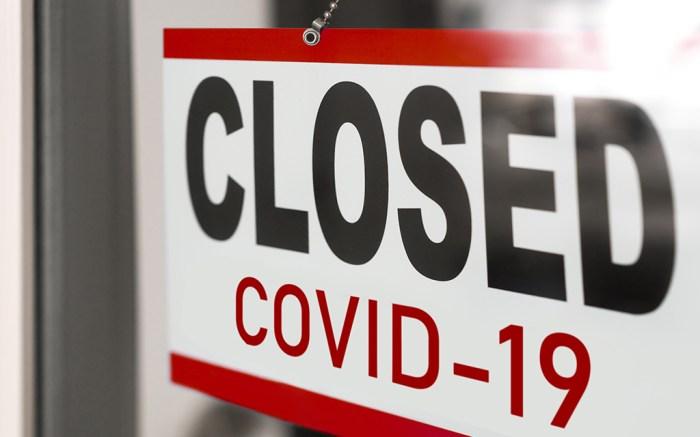 covid-19 store closed