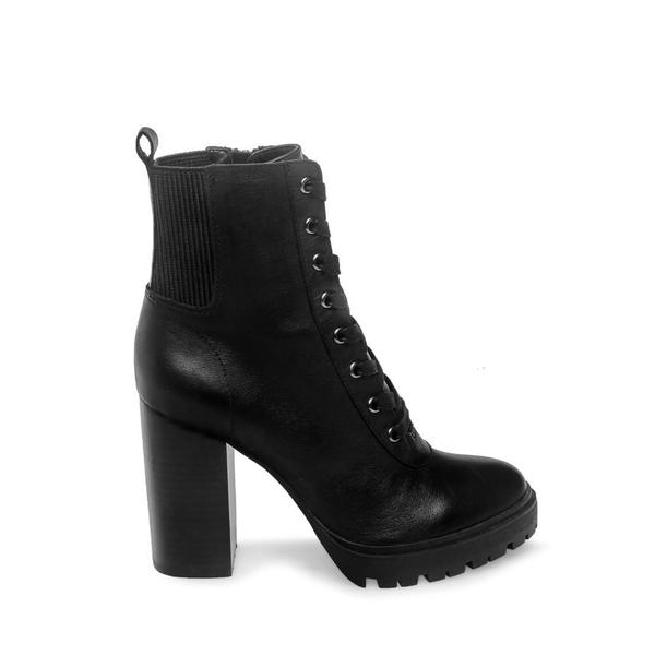 boots, black, leather