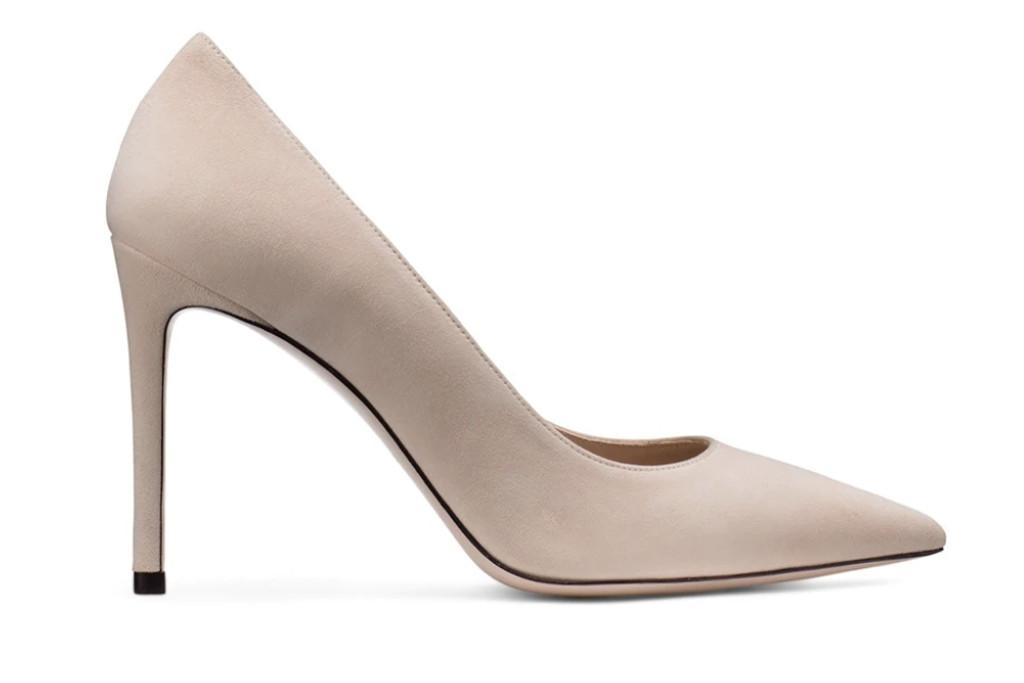 sw pump, leigh 95 pump, nude heel