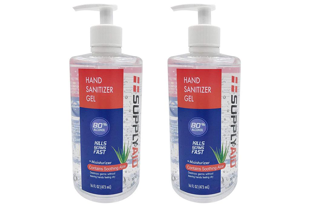 hand sanitizer, sale, amazon, shop, supply aid
