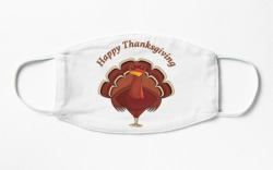 face mask, thanksgiving, leaves, turkey, fall,