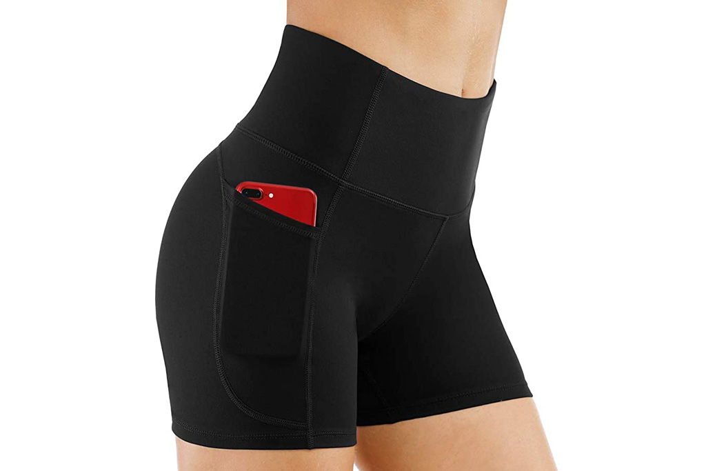 yoga shorts, best yoga shorts for women, biker shorts, shorts, amazon, the gym peoplee
