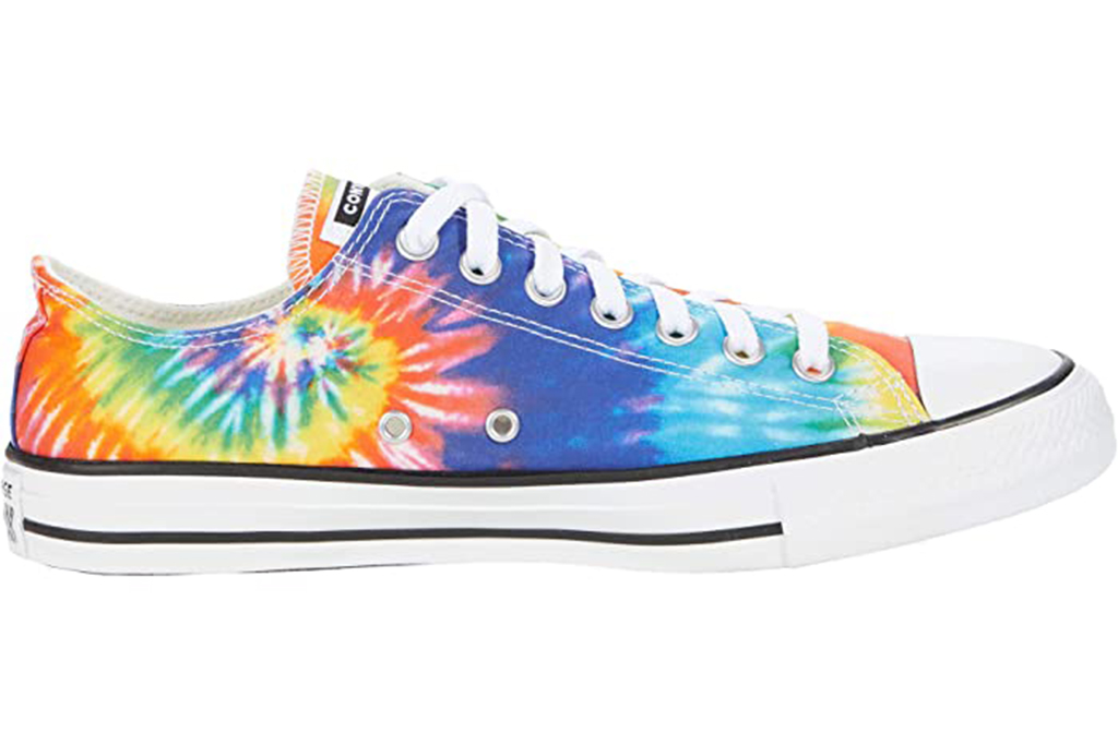 chuck taylor all star, low top sneakers, tie dye sneakers